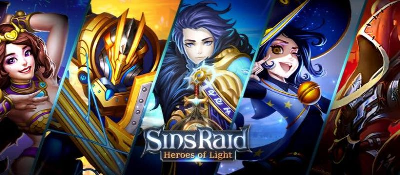 sins raid heroes of light pre-registration