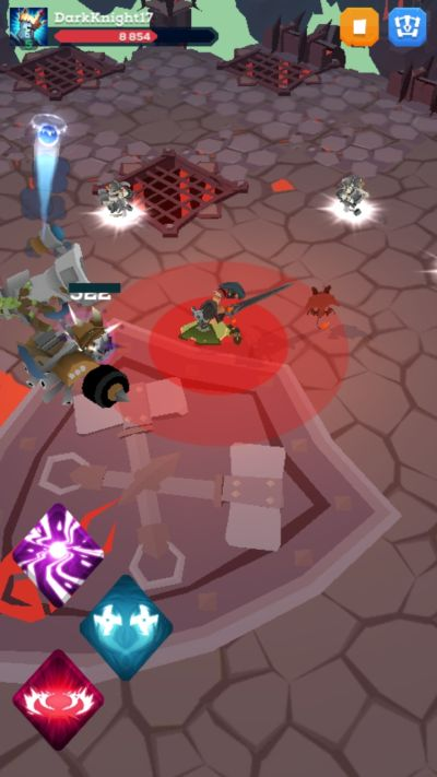 how to evade enemy attacks in the mighty quest for epic loot