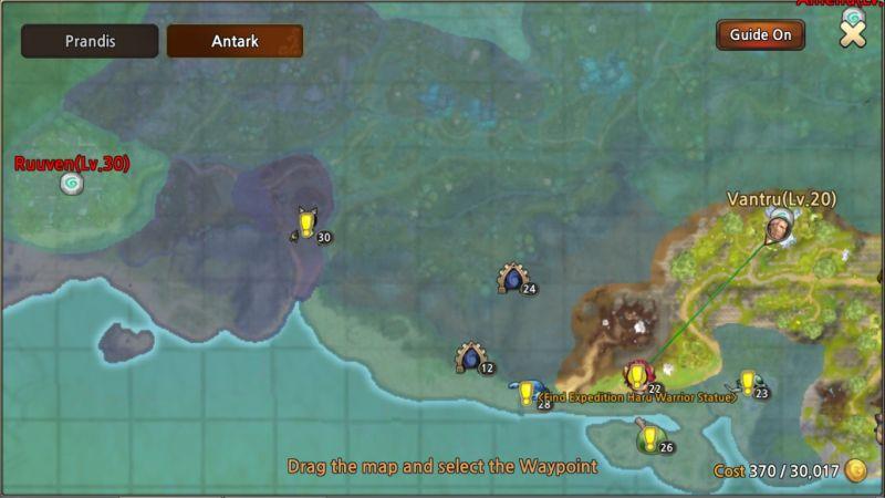 world of prandis map