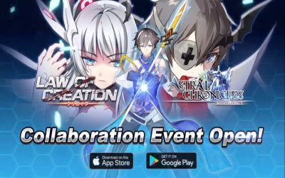 astral chronicles x law of creation collaboration event