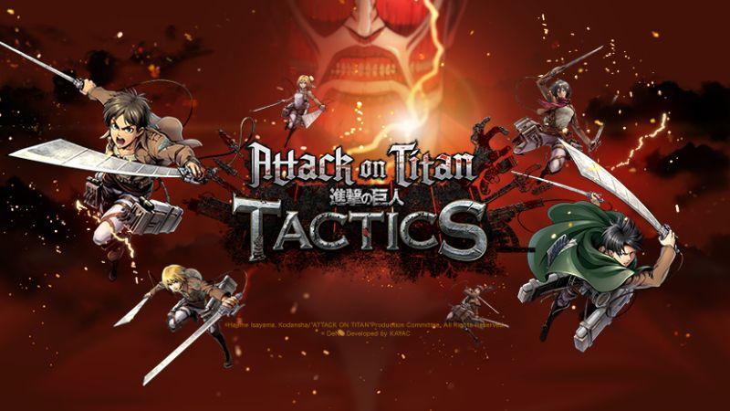 attack on titan tactics pre-registration