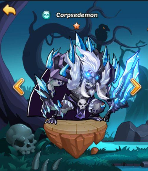 corpsedemon idle heroes