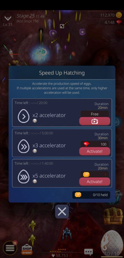 dragonsky hatching accelerator
