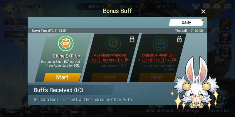elune bonus buff