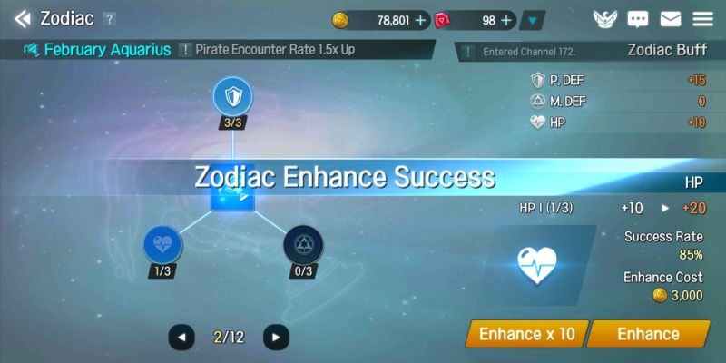 elune zodiac