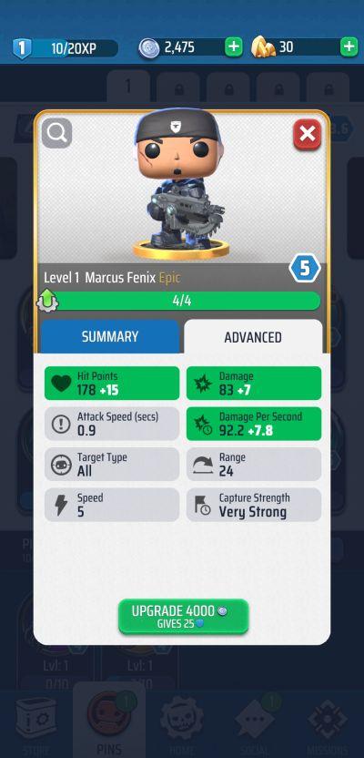 gears pop! upgrades