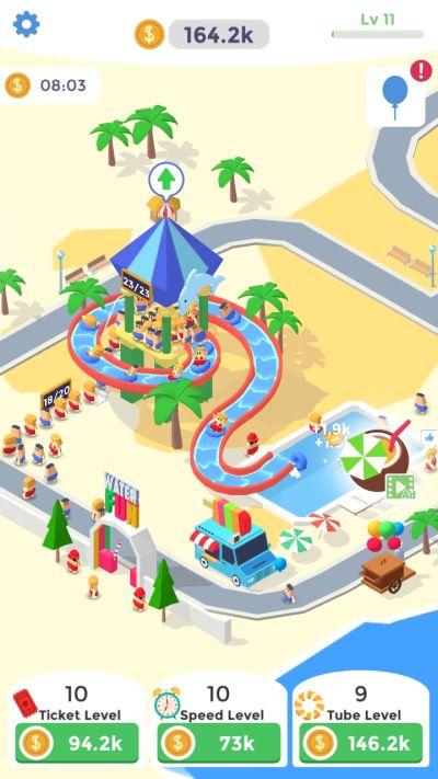 idle aqua park tips