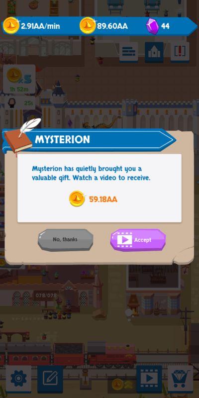 idle wizard school mysterion