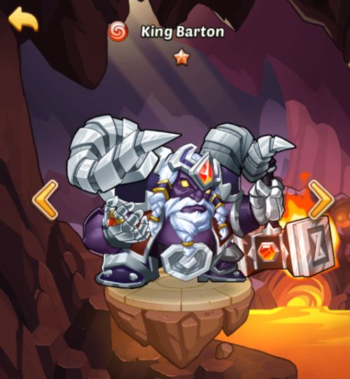 king barton idle heroes