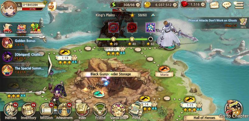 king's raid campaign