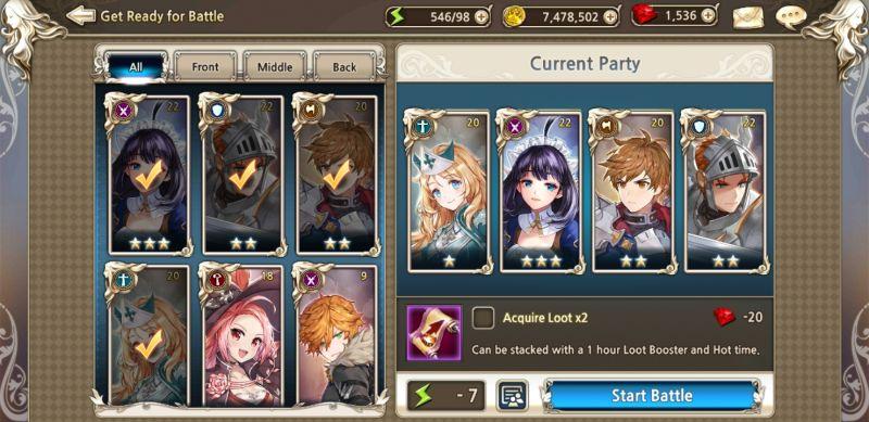 king's raid team