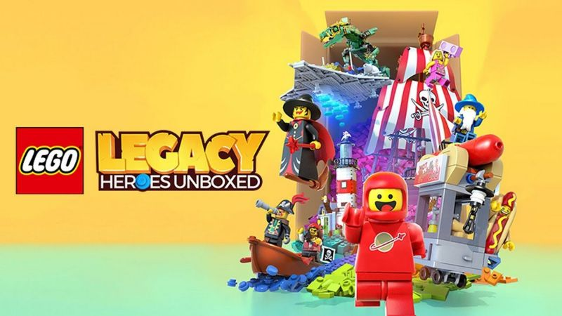 lego legacy unboxed pre-registration