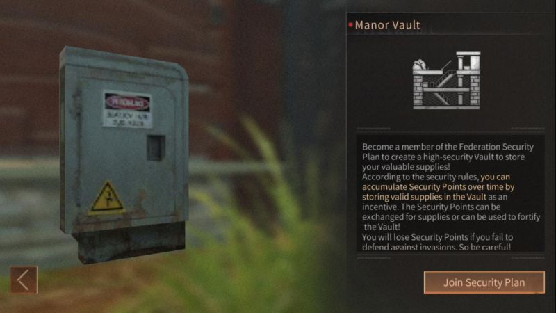 how to get a vault in lifeafter