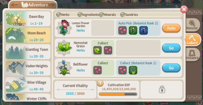 lumia saga farming tips