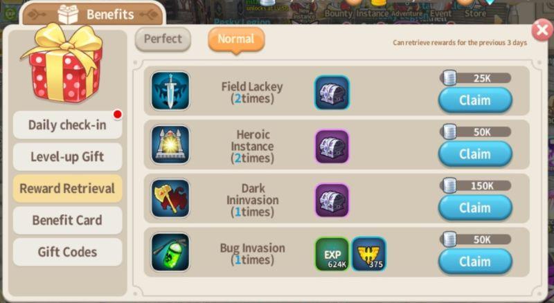 lumia saga rewards retrieval