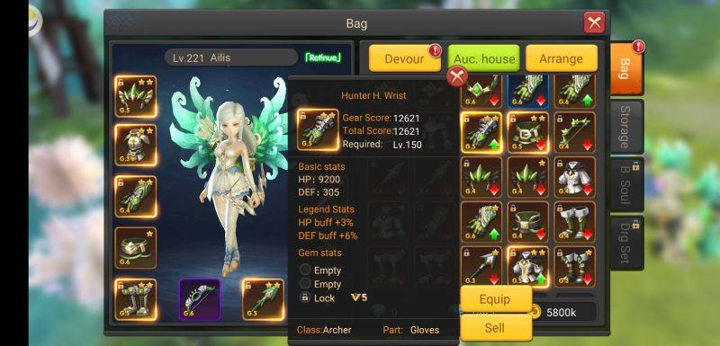 luna's fate gear