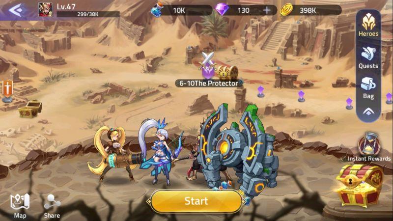 mobile legends adventure campaign