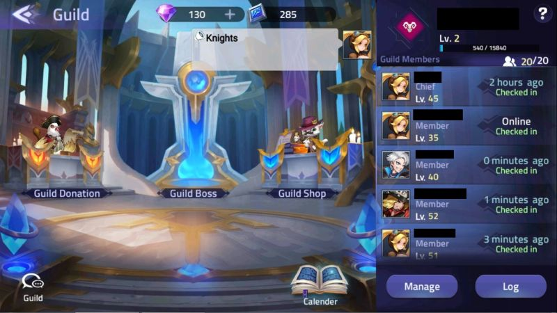 mobile legends adventure guild