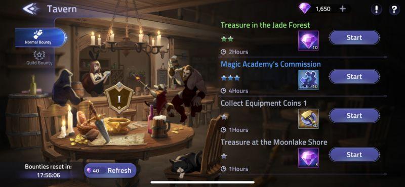 mobile legends adventure tavern