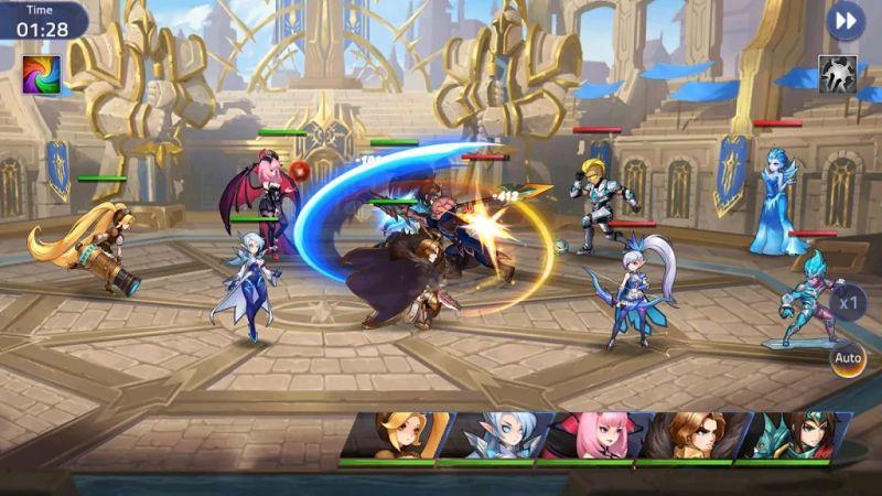 mobile legends adventure team battle