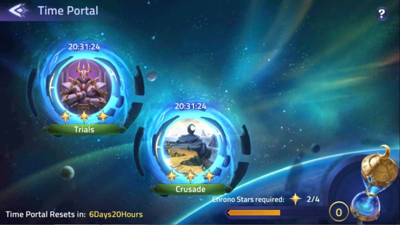 mobile legends adventure time portal