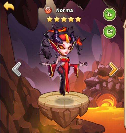 norma idle heroes