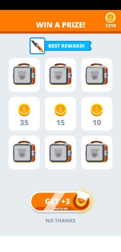 perfect slices rewards