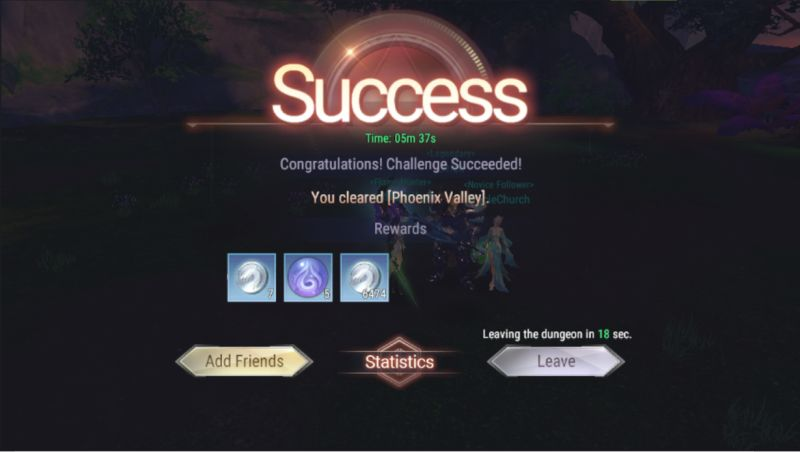 perfect world mobile clearing dungeon