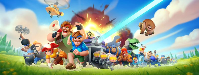 rush wars supercell