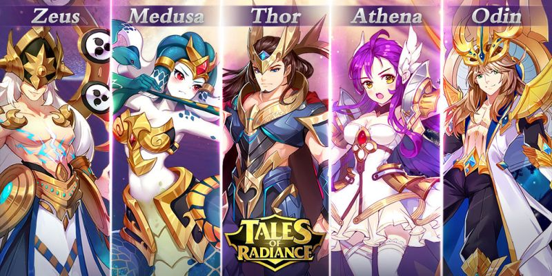 tales of radiance characters