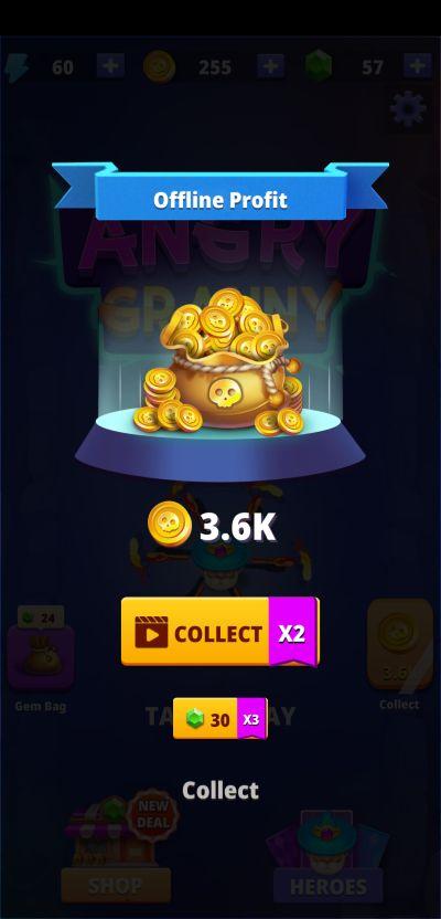 angry granny rewards