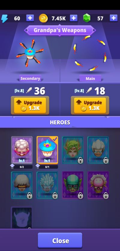 how to upgrade weapon in angry granny