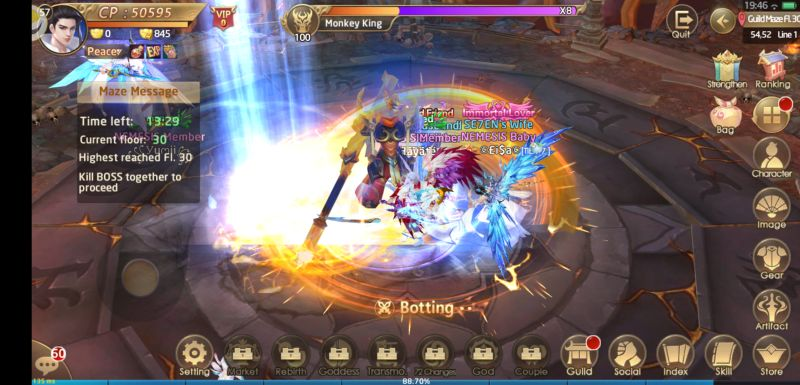celestial fate dungeons