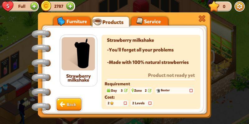 fancy café products