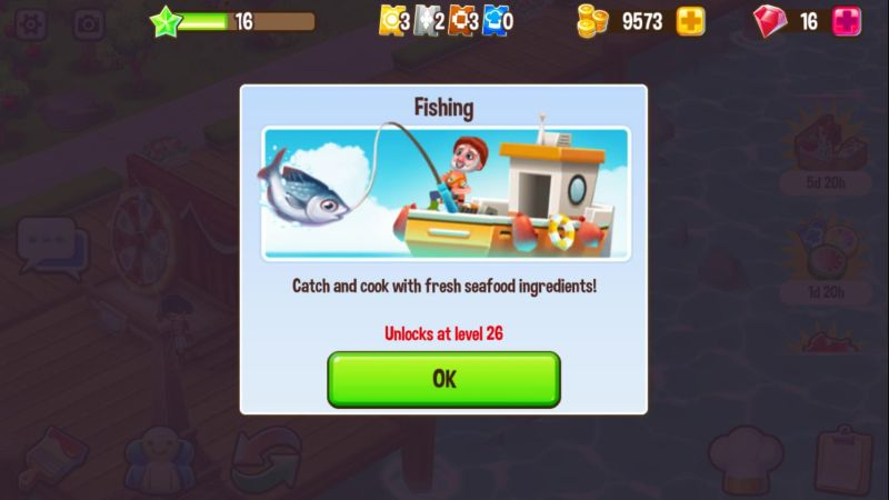 how to level up in food street
