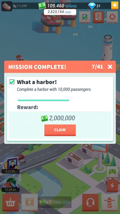 idle harbor tycoon missions