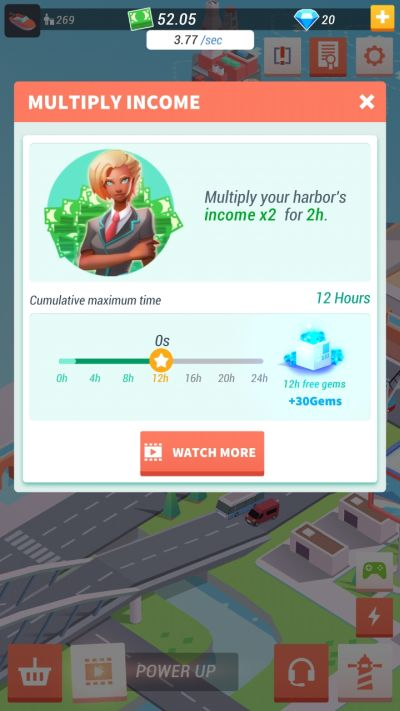 how to multiply income in idle harbor tycoon