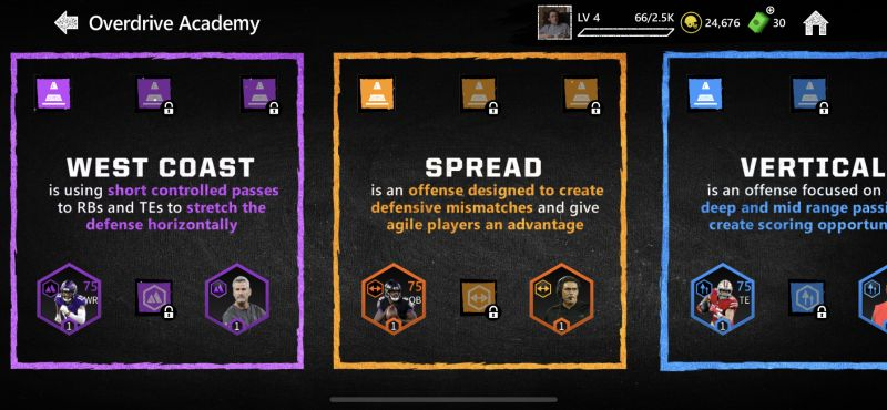 madden mobile 20 overdrive academy