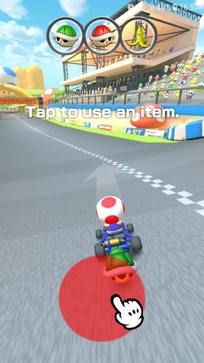 how to use buffs in mario kart tour