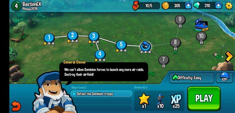 mini guns omega wars missions