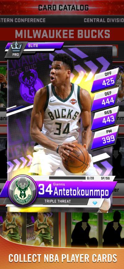 my nba 2k20 cards