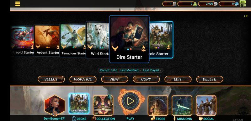 mythgard starter deck