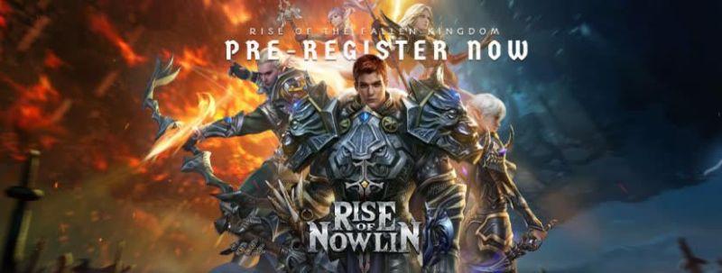 rise of nowlin pre-registration