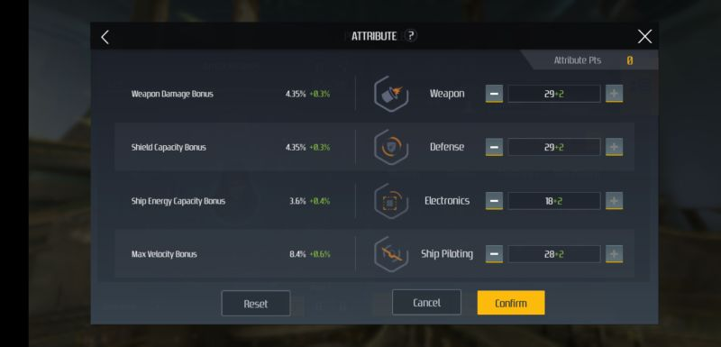 second galaxy attribute points