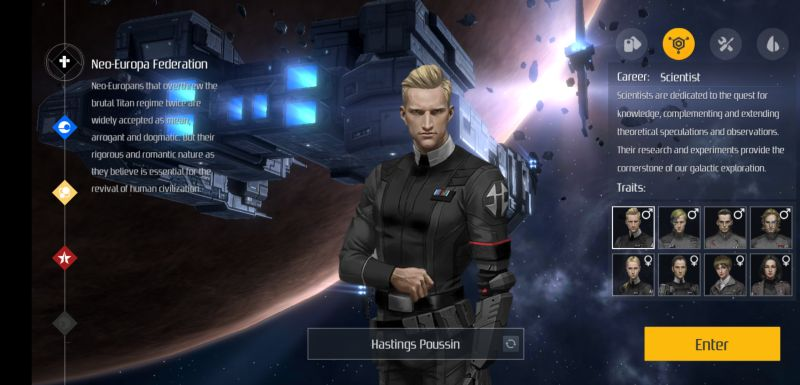 second galaxy scientist class