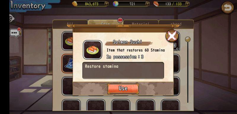shikigami myth inventory