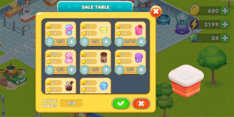 slimeatory sale table