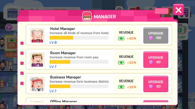 how to hire hotel staff in super hotel tycoon