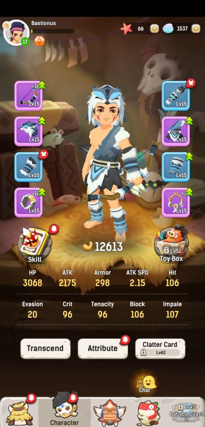 how to upgrade gear in ulala idle adventure