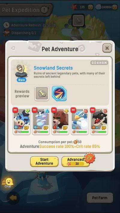 ulala idle adventure pet explorations